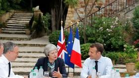 """英歐就""""脫歐""""協議草案達成共識"""