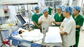 E醫院一直為各衛星醫院轉移了許多有關心血管治療技術。(圖源:黃林)