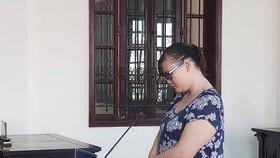 被告人陳氏紅福當庭認罪表示十分懊悔。(圖源:P.L)