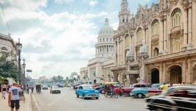 美國將對 26 個古巴實體實施制裁。圖為古巴哈瓦那街頭一瞥。(示意圖源:互聯網)