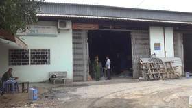 火勢熄滅後警方仍封鎖現場並勘查起火原因。(圖源:志石)