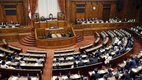 日本國會通過《入管法》修正案。(圖源:共同社)