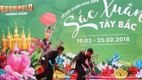 Hội xuân Mở Cổng trời Fansipan chính thức khai hội