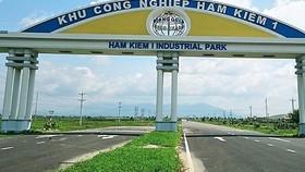 Khu công nghiệp Hàm Kiệm 1, tỉnh Bình Thuận.