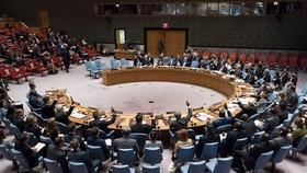 A United Nations' meeting (Source: UN)