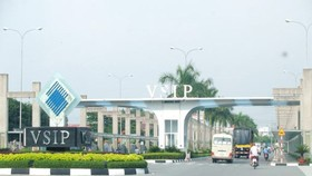 Vietnam-Singapore Industrial Park in the southern province of Binh Duong