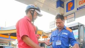 Petrol price reduces slightly