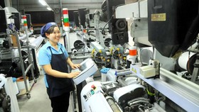 Garment and textile products account for 29 percent of HCMC's export turnover to South Korea (Photo: SGGP)