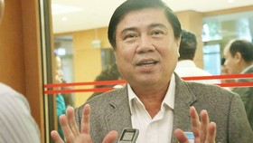 Chairman of HCMC People's Committee Nguyen Thanh Phong