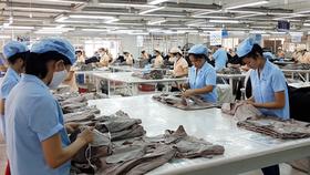 Garment making at Saigon 3 Garment Joint Stock Company (Photo: SGGP)