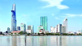 A corner of HCMC's center area (Photo: SGGP)