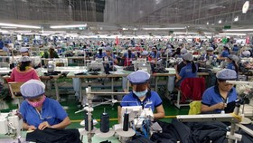 The factory of the Far Eastern New Apparel Vietnam Co. Ltd in Bac Dong Phu Industrial Park, Binh Phuoc province (Photo: VNA)