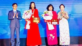 Vinh danh 2 nhà khoa học nữ nhận giải thưởng Kovalevskaia 2017
