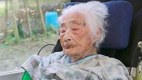 Cụ bà người Nhật Bản Nabi Tajima. Ảnh: KYODO