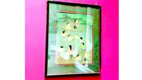 Một tác phẩm nghệ thuật trong bộ sưu tập Việt Nam tại bảo tàng Cernuschi