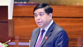 Bộ trưởng Bộ Kế hoạch và Đầu tư  (KH-ĐT) Nguyễn Chí Dũng