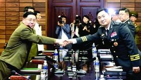 Hai miền Triều Tiên đàm phán quân sự vào tháng 6-2018