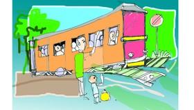 Những chuyến tàu trôi qua cửa sổ