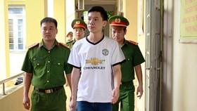 Bác sĩ Hoàng Công Lương khi bị bắt