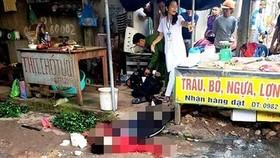 Kẻ bắn chết người phụ nữ bán đậu ở chợ Tân An đã tử vong