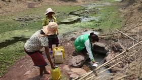 Dùng nước bẩn đục phục vụ sinh hoạt