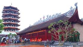 Công trình đền thờ Ngã ba Đồng Lộc