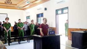 Bị cáo Nguyễn Nam Hải tại phiên tòa xét xử