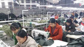 Công nhân đã quay trở lại làm việc sau khi lãnh đạo công ty cam kết trả lương
