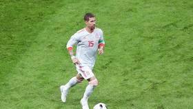 Ramos có tỷ lệ chuyền bóng chính xác cao hơn hai người đồng đội trong màu áo Real. Ảnh: Getty Images