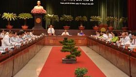 Khai mạc Hội nghị lần thứ 16 Ban Chấp hành Đảng bộ TPHCM khóa X