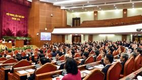 Bầu bổ sung hai đồng chí Trần Cẩm Tú và Trần Thanh Mẫn vào Ủy viên Ban Bí thư khóa XII