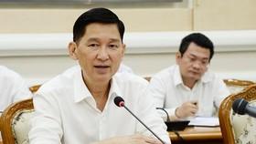 Phó Chủ tịch UBND TPHCM Trần Vĩnh Tuyến. Ảnh: QUỐC HÙNG