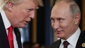 Tổng thống Mỹ Donald Trump và Tổng thống Nga Vladimir Putin. Ảnh: Nguồn SPUTNIK