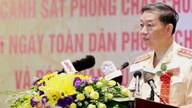 Thượng tướng Tô Lâm, Ủy viên Bộ Chính trị, Bí thư Đảng ủy Công an, Trung ương, Bộ trưởng Bộ Công an. Ảnh: TOQUOC.VN