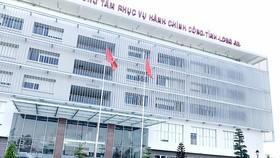 Trung tâm phục vụ hành chính công tỉnh Long An Ảnh: KIẾN VĂN