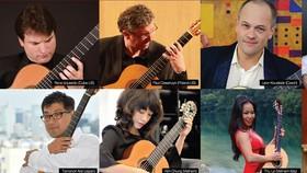 Các nghệ sĩ tham gia liên hoan guitar 2018