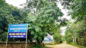 Khu sinh thái, nghỉ dưỡng xây dựng trên đất rừng phòng hộ ở thôn Lâm Trường, xã Minh Phú, Sóc Sơn