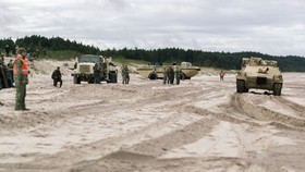 Tập trận đa quốc gia quy mô lớn tại Lithuania