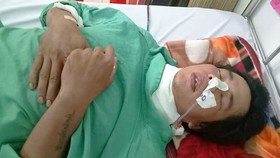 Anh Nguyễn Vũ cấp cứu tại Bệnh viện Nhân dân 115