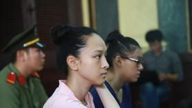 Bị cáo Trương Hồ Phương Nga tại phiên tòa sáng 23-6