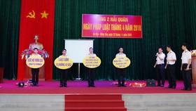 Vùng 2 Hải quân tổ chức Sân khấu hóa sinh hoạt Ngày Pháp luật tháng 4-2018
