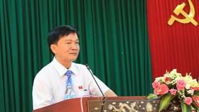 Ông Trần Ngọc Căng, Chủ tịch UBND tỉnh Quảng Ngãi