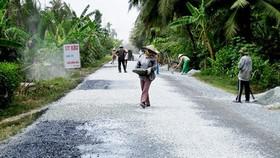 Phát động phong trào xây dựng giao thông nông thôn
