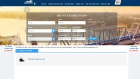 Thêm trang mạng mua vé tàu lửa