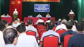 Hội nghị tiếp xúc cử tri trước kỳ họp thứ 6 - Quốc hội khóa XIV
