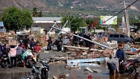 Số người chết vì động đất, sóng thần Indonesia tăng lên hơn 1.200 người