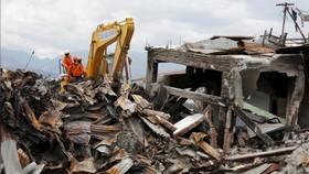 Ngày cuối cùng tìm kiếm nạn nhân vụ động đất, sóng thần tại Indonesia