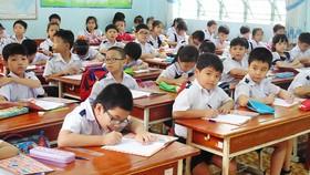Học sinh Trường Tiểu học An Hội (quận Gò Vấp) trong một giờ lên lớp (ảnh minh họa)
