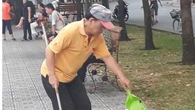 Tự nguyện quét dọn rác