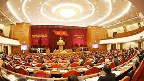 Toàn cảnh Hội nghị Trung ương 7. Ảnh: VGP